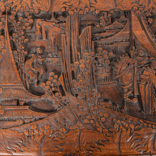 Vintage Chinese Carved Chest - Image 3 of 4
