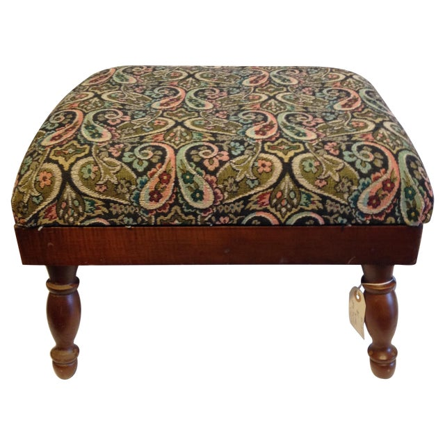 Vintage Electric Warming Ottoman - Image 1 of 4