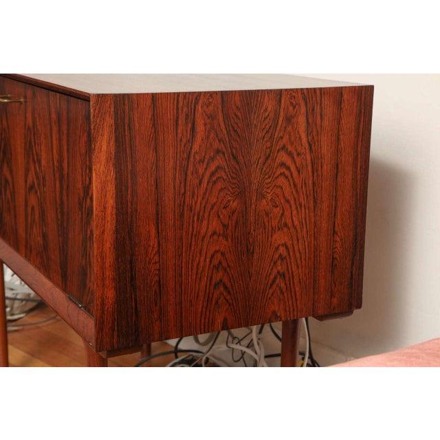 Italian Mid Century Wood Bar/Media Cabinet For Sale - Image 9 of 11