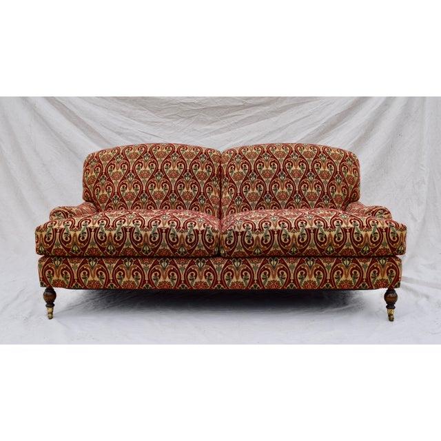 Brunschwig & Fils English Sherwood Sofa on Casters For Sale - Image 10 of 10