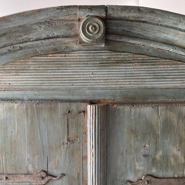 18th Century Swedish Painted Petite Herb Cabinet For Sale In West Palm - Image 6 of 10