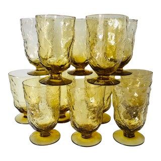 Anchor Hocking 'Milano' Goblets-Set 12 For Sale