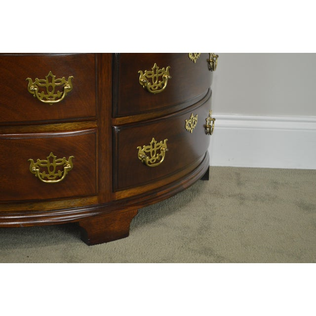 Madison Square Demilune Chippendale Chest of Drawers For Sale - Image 11 of 13