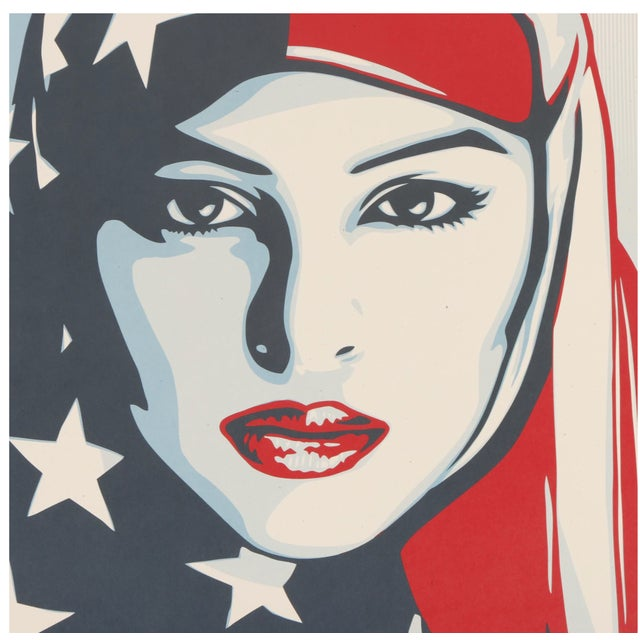 "Three Shepard Fairey Serigraph Prints ""We the People"" For Sale - Image 11 of 13"