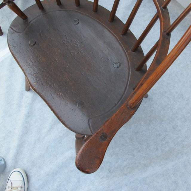 New England Bow-Back Windsor Arm Chair - Image 8 of 8
