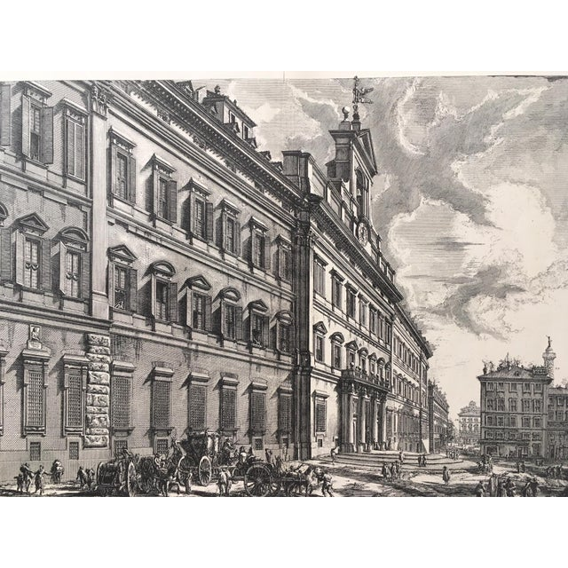 Up for sale is this antique lithograph after an etching by Italian artist Giovanni Battista Piranesi (1720-1778),...