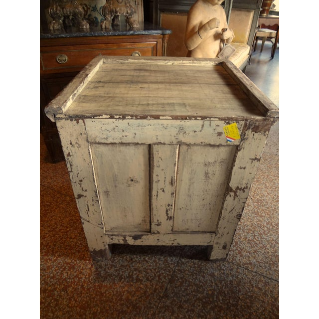 Late 19th Century Rustic French One Door Cabinet For Sale In New Orleans - Image 6 of 12