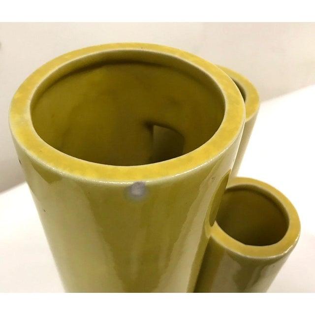Mid-Century Italian and Japanese Ceramic Vase For Sale In Atlanta - Image 6 of 7