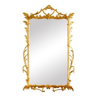 George III Antique Giltwood Mirror
