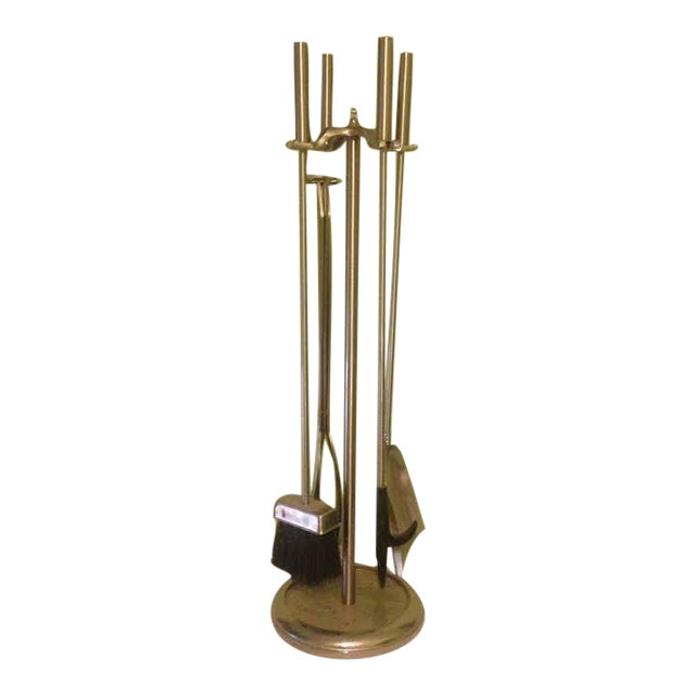 Vintage Modernist Fire Tools - Set of 5 - Image 1 of 5