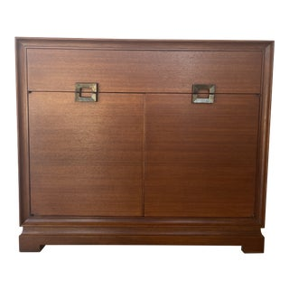 Mid 20th Century Solid Wood Chest of Drawers For Sale