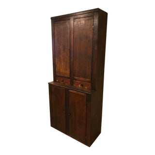 Late 19th Century New England Cabinet For Sale