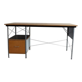 Modernica Case Study Desk With Wood Panels