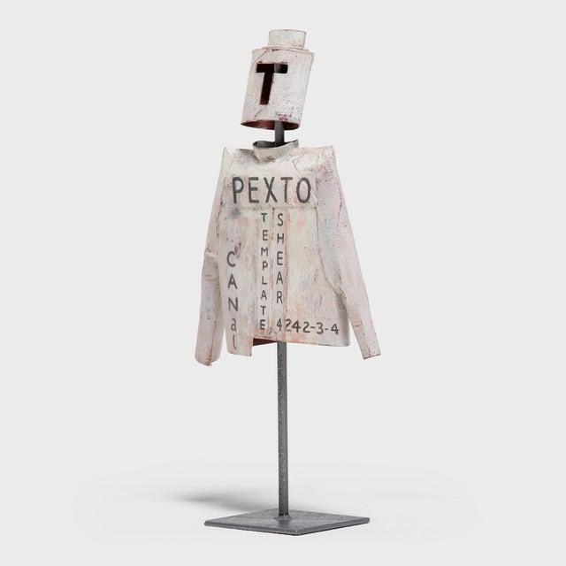"Folk Art ""Pexto"" Car & Jacket by Patrick Fitzgerald For Sale - Image 3 of 13"