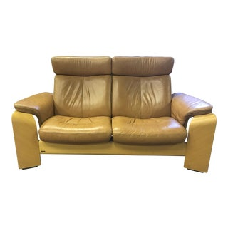 Contemporary Stressless Ekornes Pegasus Loveseat