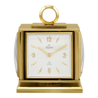 Joe DiMaggio's Presentation Desk Clock For Sale