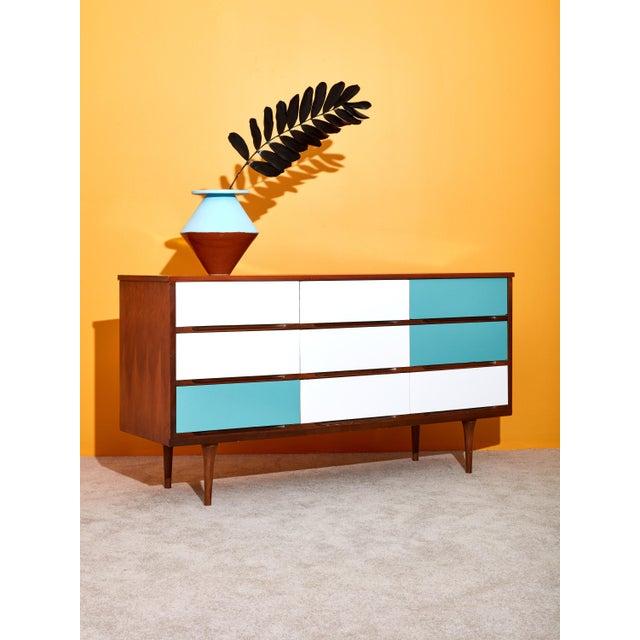9 Drawer Dresser For Sale - Image 4 of 5