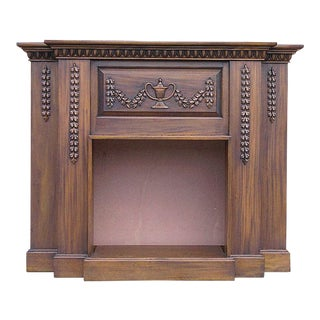 Classic Electric Heater Mantel For Sale