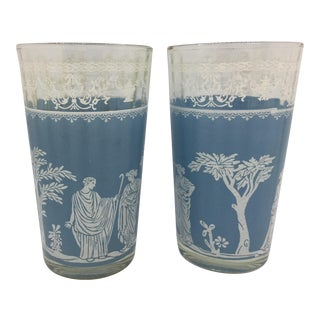 Mid-Century Wedgewood Jeanette Glasses - Set of 2 For Sale