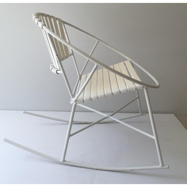 Mid-Century Outdoor Rocking Chair - Image 2 of 8