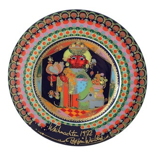 1972 Bjorn Winblad Rosenthal Christmas Plate For Sale