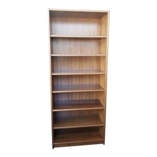 1970s Scandinavian Teak Extra Tall Bookcase For Sale