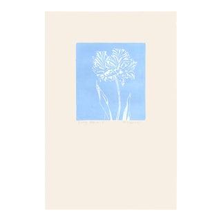 """""""Groovy Flowers Ii"""", Original Etching by Anita Klebanoff For Sale"""
