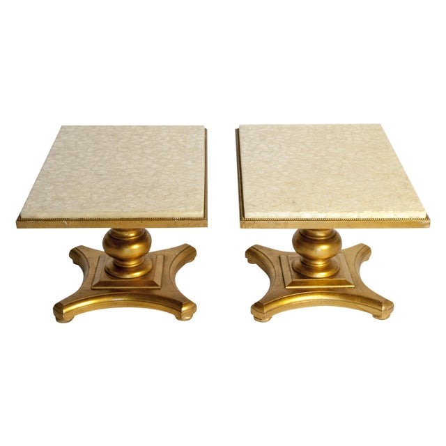 Hollywood Regency Accent Tables - Pair - Image 1 of 6