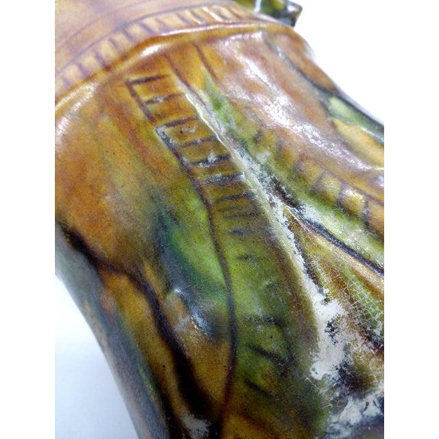 Chinese Sancai-Glazed Lokapala Figure For Sale - Image 9 of 10
