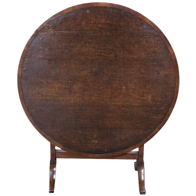 Antique French Wine Tasting Table For Sale