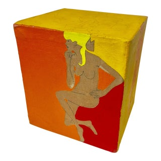 Art Cube Canvas Nude Original Painting For Sale