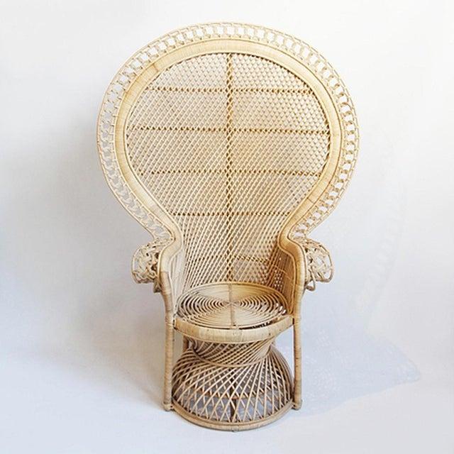 Rattan Loop Peacock Chair - Image 2 of 5
