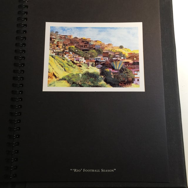 """Black """"An Evening with the Art of Tony Bennett"""" Book of Paintings For Sale - Image 8 of 11"""