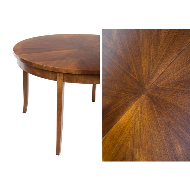 Round Dining Table by t.h. Robsjohn-Gibbings for Widdicomb, Model 4322 For Sale - Image 10 of 12