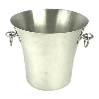 Late 20th Century Italian Champagne Ice Bucket For Sale