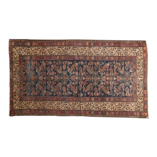 "Antique Hamadan Rug - 3'4"" X 6'2"" For Sale"