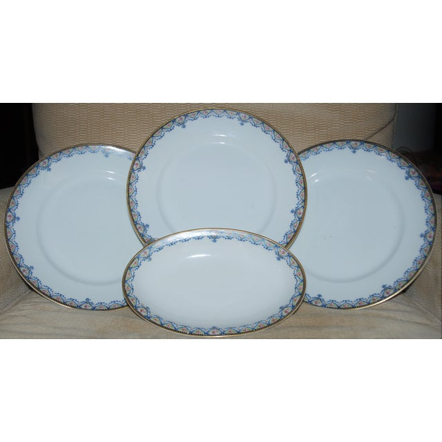 Haviland China Plates - Set of 4 - Image 2 of 6