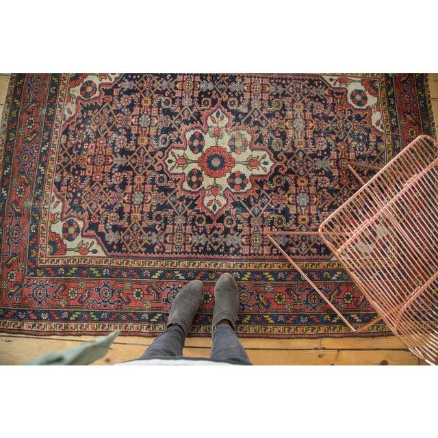 "Vintage Persian Dargezine Rug - 4'8"" X 6'5"" - Image 8 of 8"