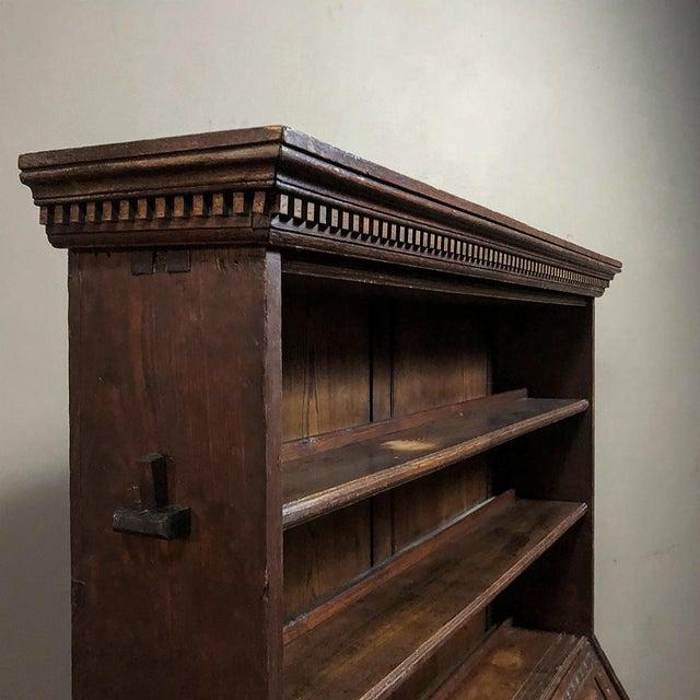 18th Century English Renaissance Secretary Bookcase For Sale - Image 12 of 13