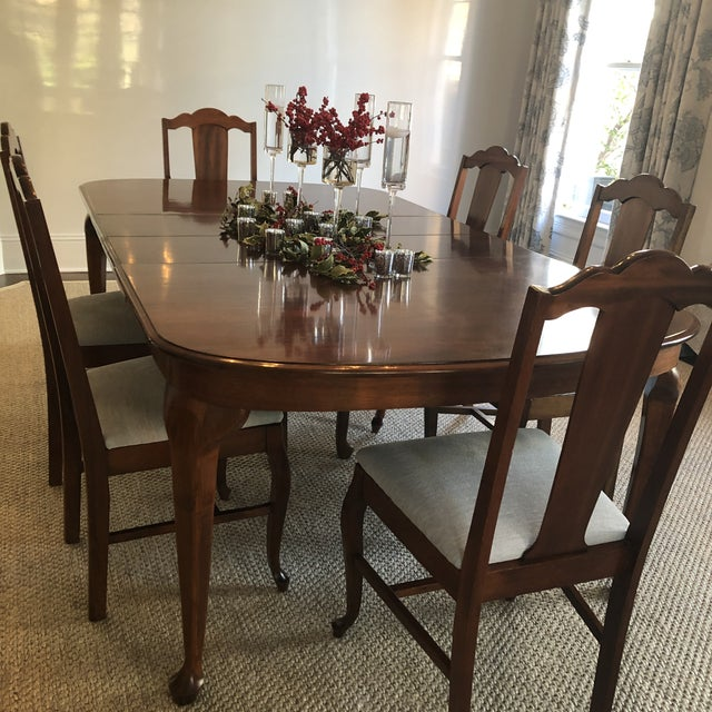 1920s Vintage Dining Table Chairish