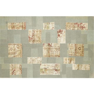 "Nalbandian - 1950s Turkish Patchwork Kilim - 5'10"" X 9'1"" For Sale"