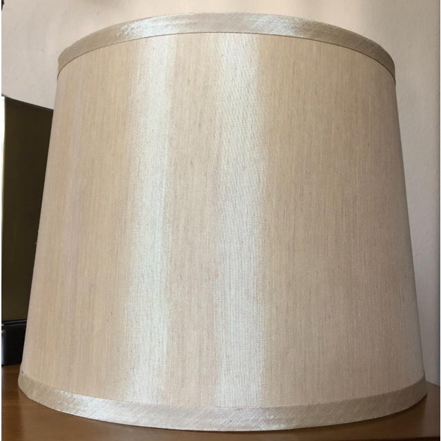 Brass Frederick Cooper Style Table Lamps - a Pair For Sale - Image 7 of 13
