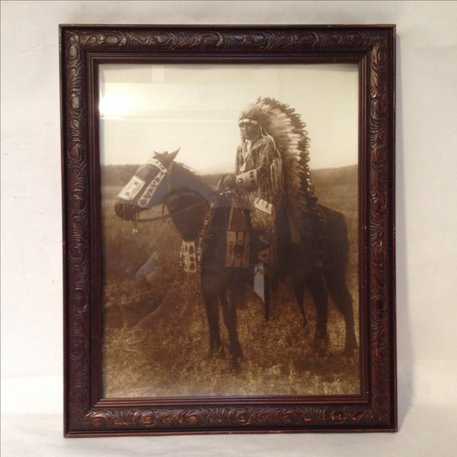 Native American Chief Hector Photograph - Image 2 of 8