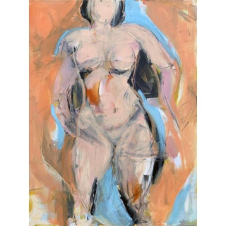 Woman in Orange I For Sale