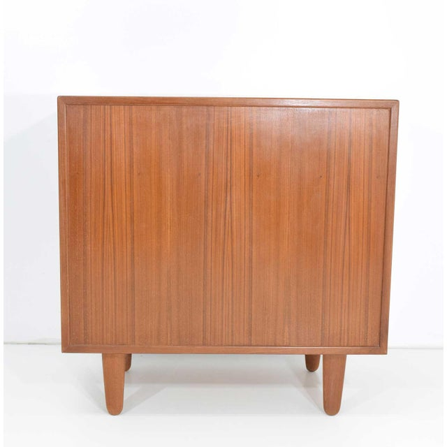 Danish Teak Chest of Drawers For Sale - Image 4 of 6
