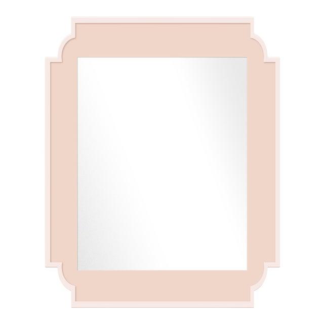 Fleur Home x Chairish Camp Mirror in Pink Ground, 24x36 For Sale