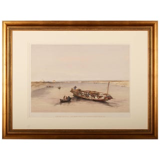 """""""Slave Boat on the Nile by David Roberts"""