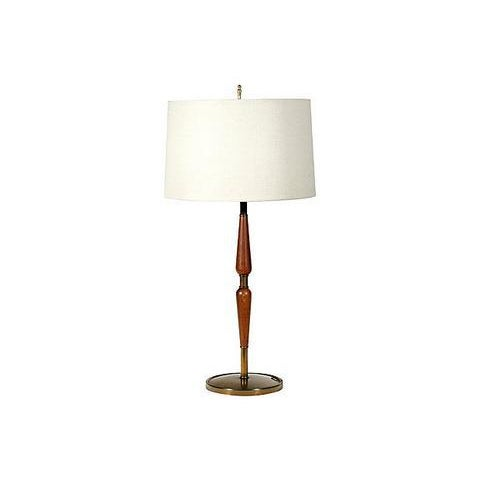1960s Laurel Style Walnut Lamps - A Pair - Image 2 of 5