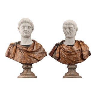 17th-Century Italian Portrait Busts For Sale