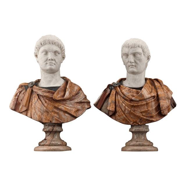 17th-Century Italian Portrait Busts For Sale